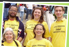 Legal observers at the C