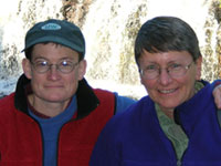 Beth Workmaster and Linda Crubaugh
