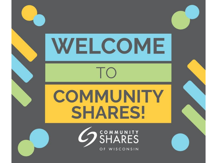 Community Shares of Wisconsin Announces Seven New Member Organizations