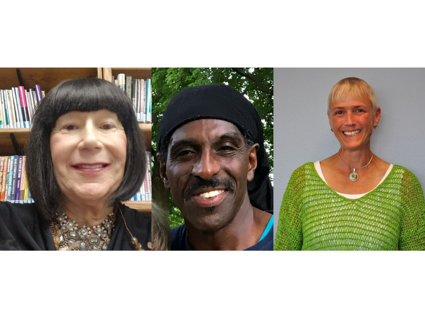 Change Makers 2019, Ginger, Ruth, Talib -- featured image