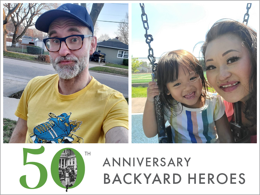 "Anniversary Backyard Heroes: Juchems & Vue — ""Superstar Fundraisers!"""