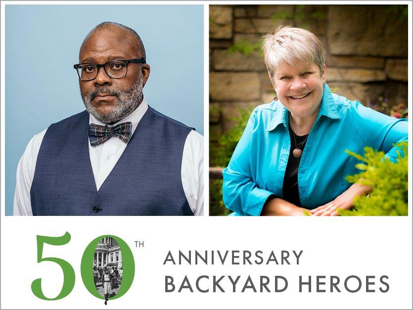 Anniversary Backyard Heroes: Hoes & Jess