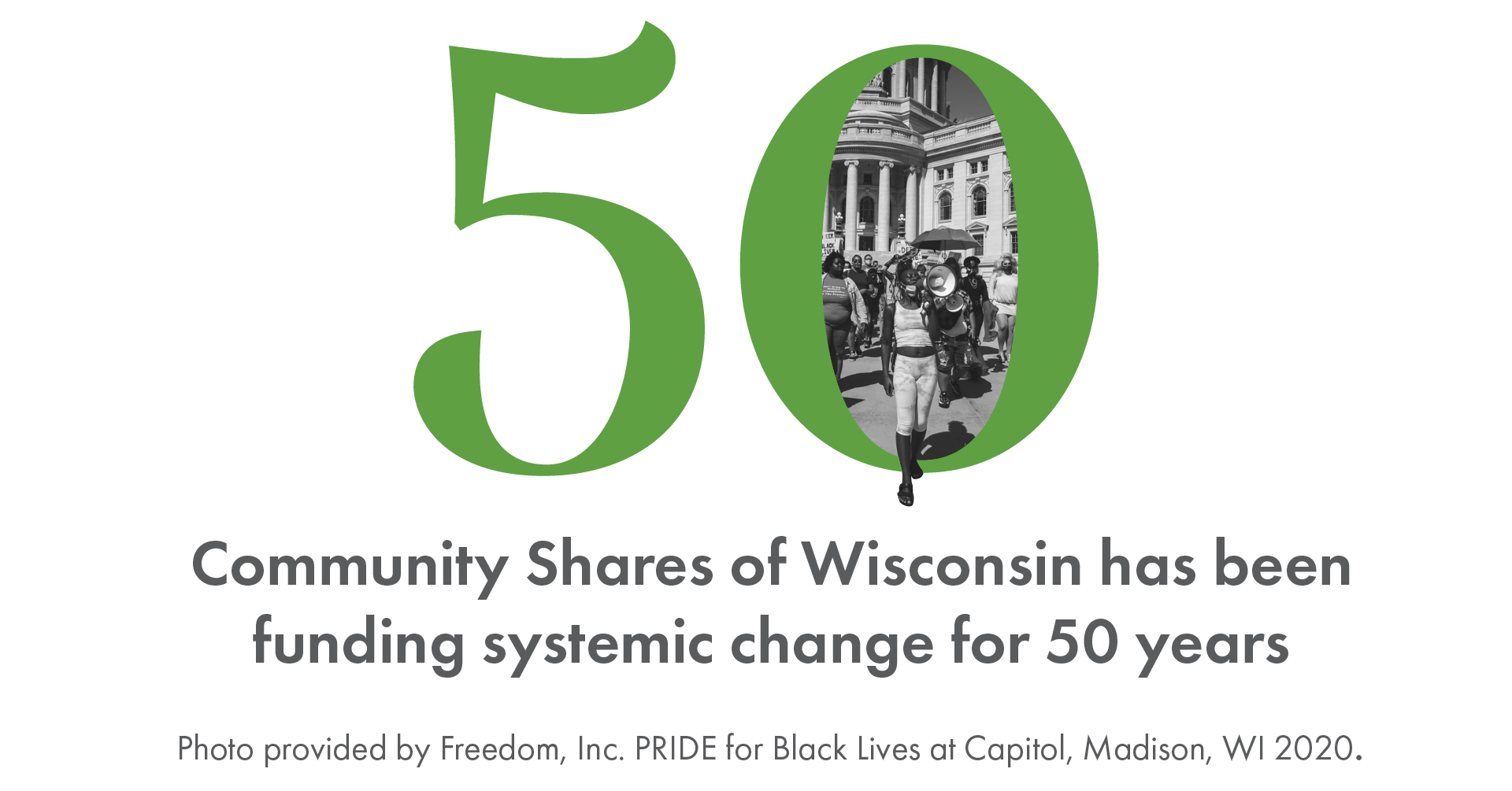 Community Shares of Wisconsin has been funding systemic change for 50 years